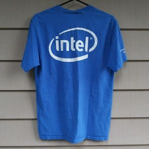 Other - Blue Intel T Shirt Medium
